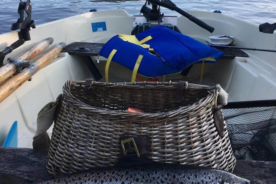 Fina fisken i Kallsjön