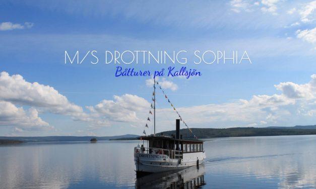 m/s Drottning Sophia med ny brygga