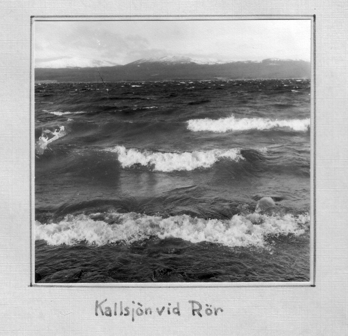 S.17 Kallsjön vid Rör
