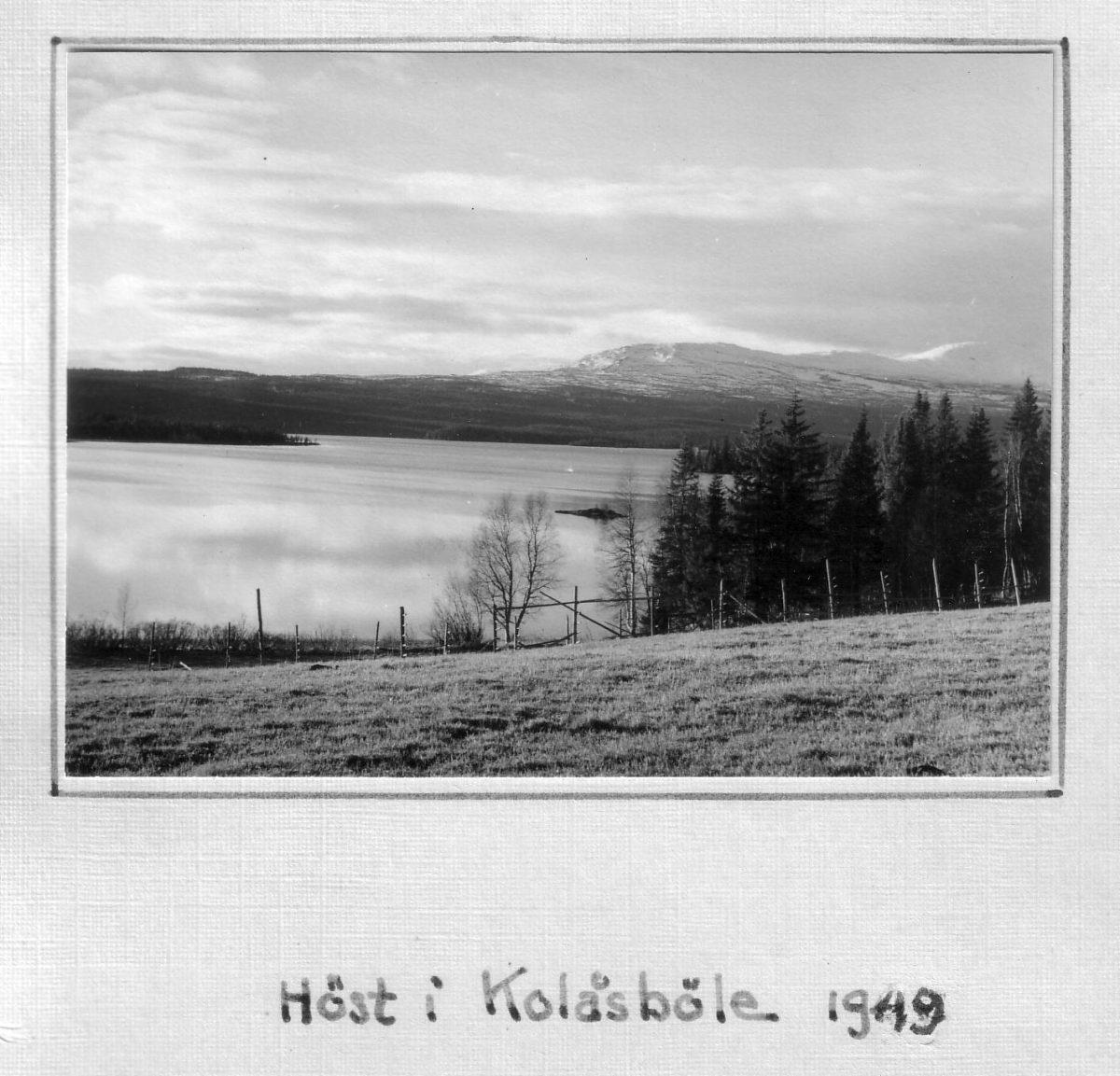 S.21 Höst i kolåsböle 1949 Bild 1