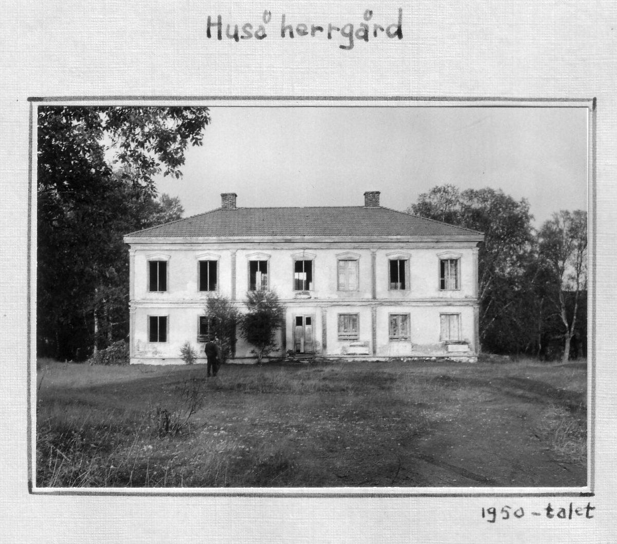 S.57 Huså Herrgård 1950-talet