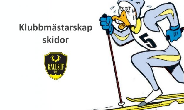 Klubbmästerskap Skidor 8 mars
