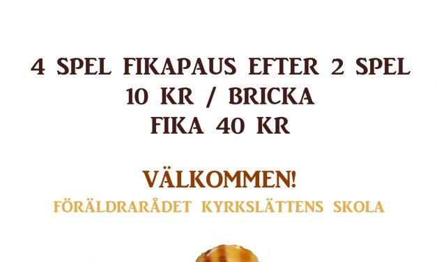 Kalls Skolas Brödbingo 7 nov