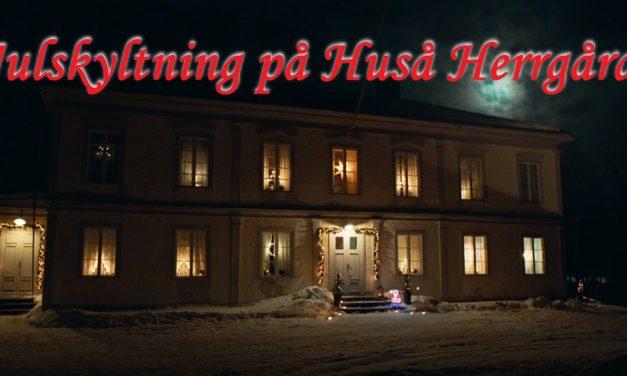 Julskyltning Huså Herrgård 16 november